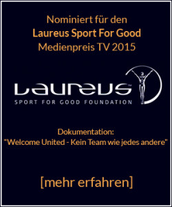 Nomimiert für den Laureus Sport For Good Medienpreis TV 2015